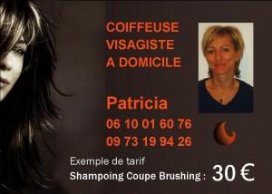 Coiffure Patricia 9 x 6,425