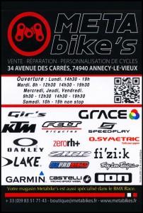 Meta bike's 9 x 13,35