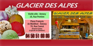 Glacier des Alpes 18,5 x 9,2