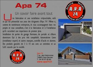 APA 74 bon